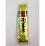 抹茶入りで水色もきれい! 抹茶入り玄米茶(200g)